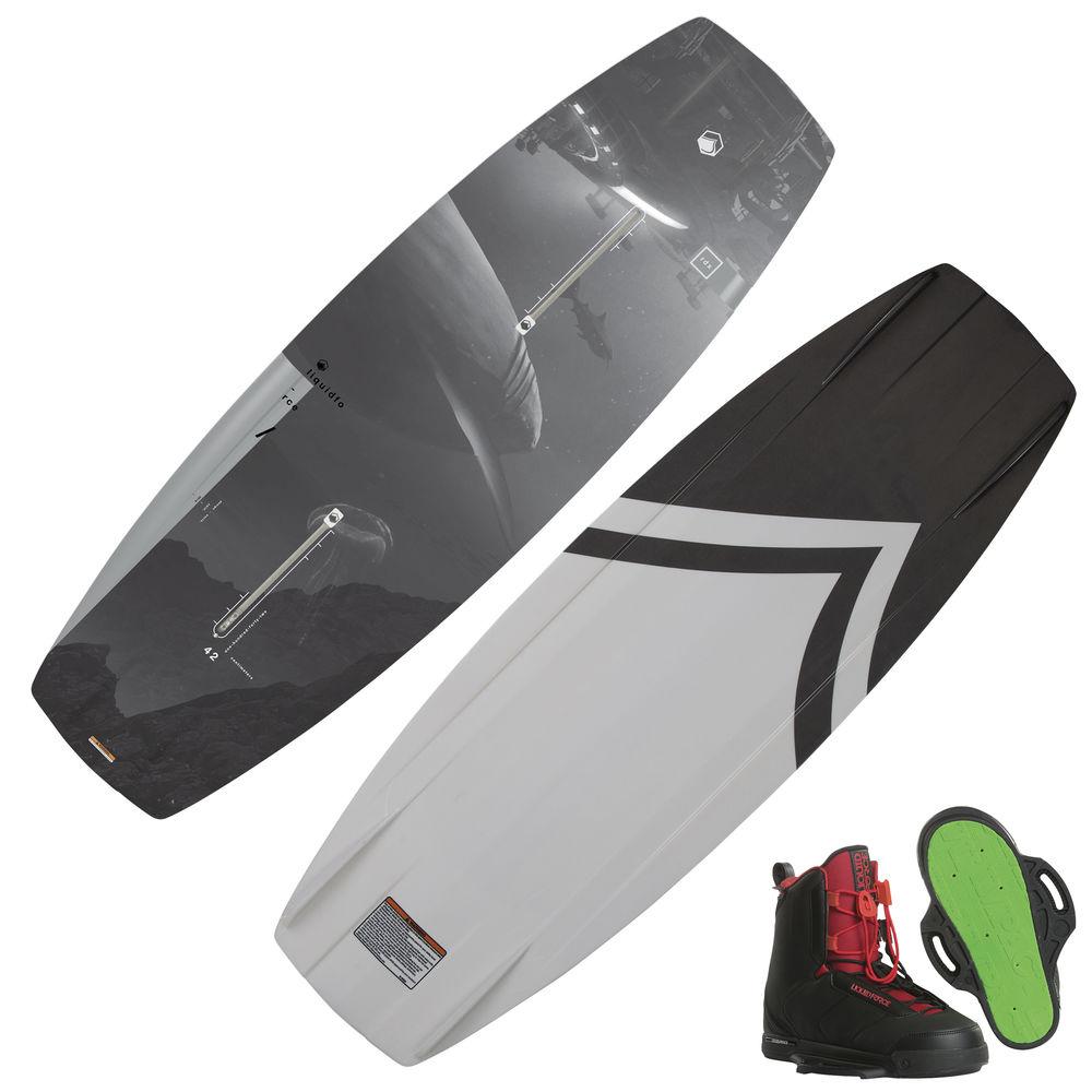Liquid Force RDX Wakeboard With Hitch Bindings