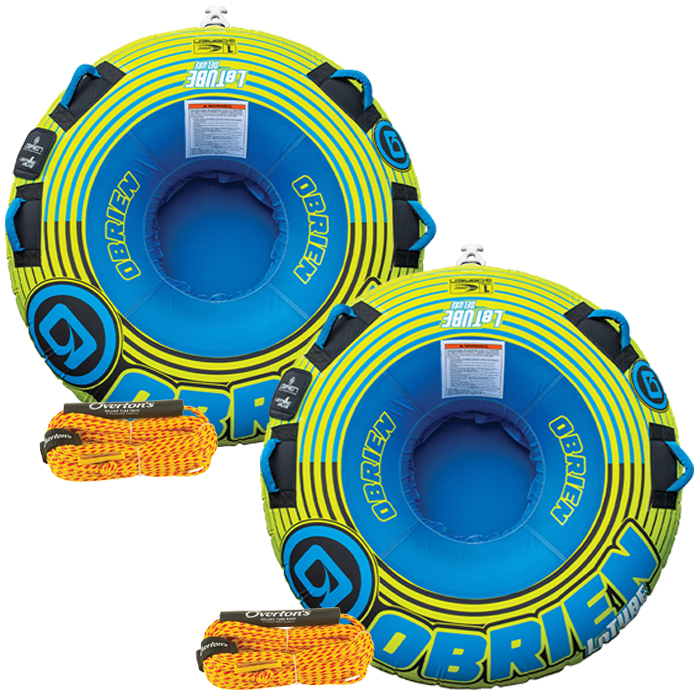 O'Brien Le Tube 1-Person Towable Tube Package