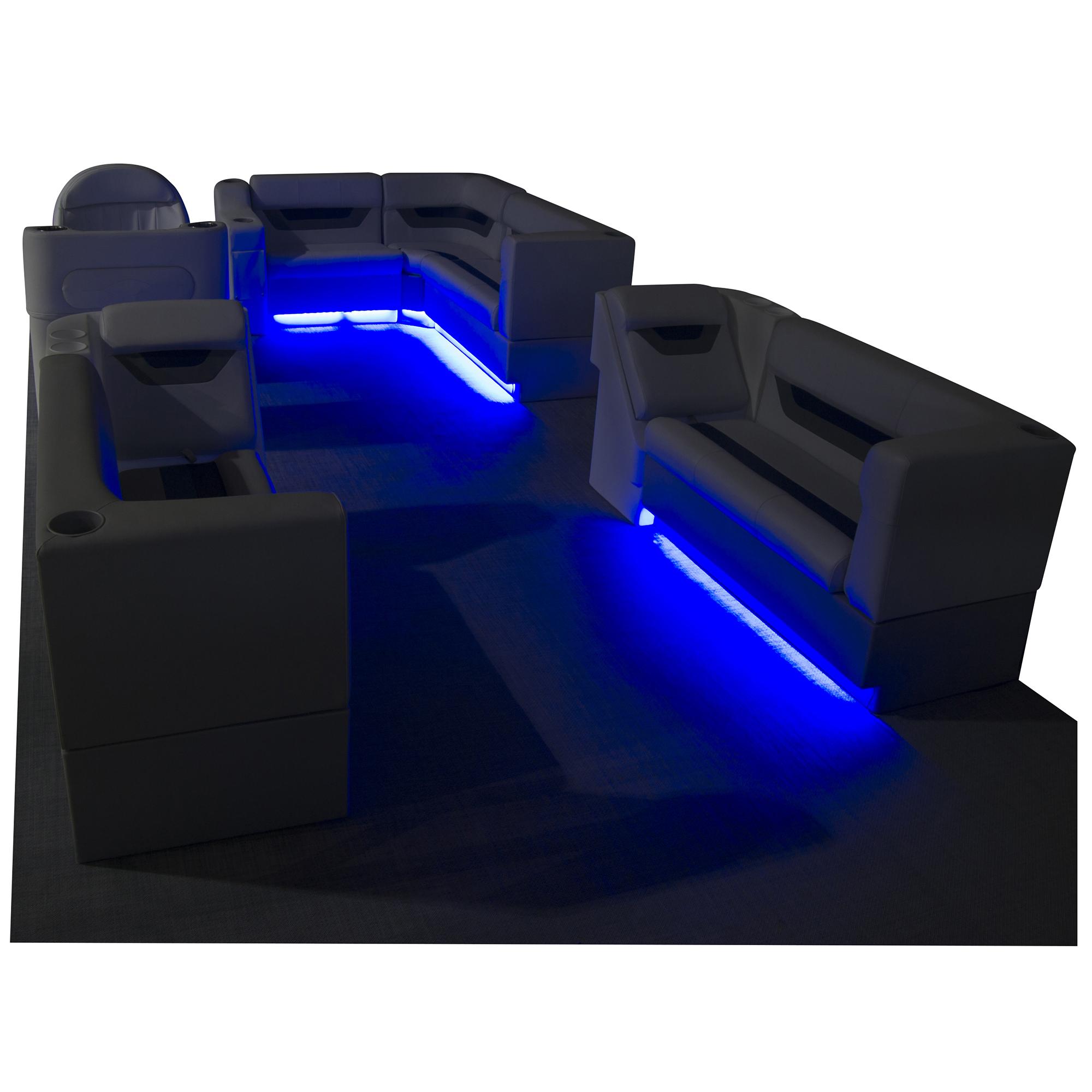 "Toonmate Designer Pontoon Furniture 63"" Front Seat Package"