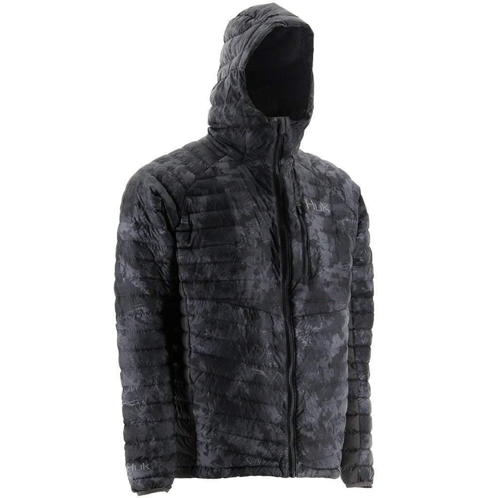 HUK Men's Double Down Camo Jacket