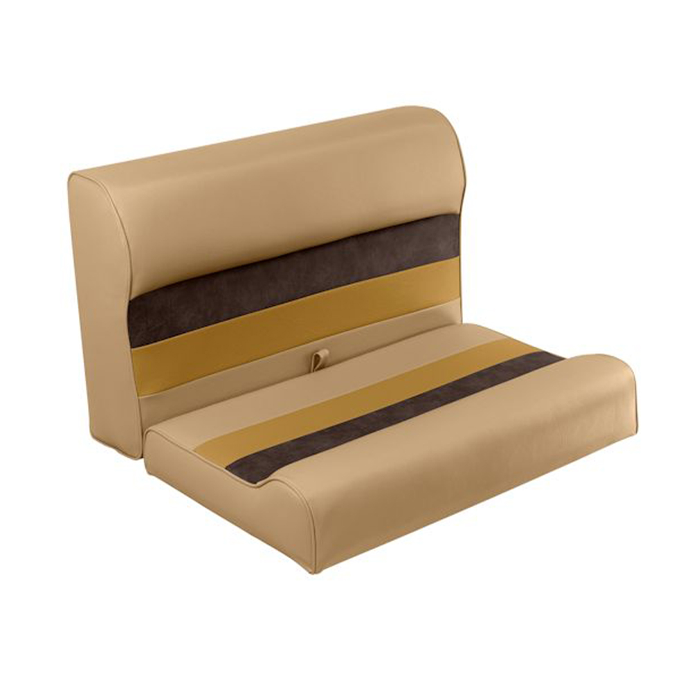 """Toonmate Deluxe 27"""" Lounge Seat, - TOP ONLY - Sand/Chestnut/Gold"""